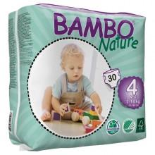 FRALDAS TAM 4 BAMBO 7-18 KG -30 UNI