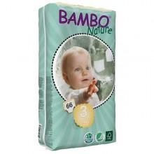 FRALDAS TAM 3 BAMBO 5-9 KG -66 UNI