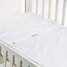 SAFETY BABY BED LACINHO BEJE 50X80