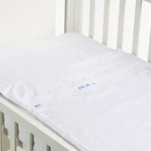 SAFETY BABY BED LACINHO AZUL 50X80