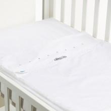 SAFETY BABY BED LACINHO CINZA 60X120
